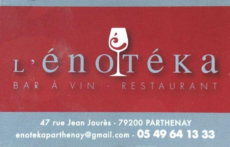 restaurant lenoteka parthenay